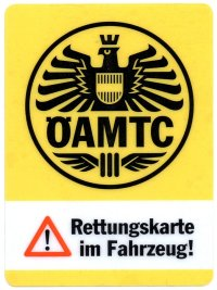 Sticker ÖAMTC, 17kB