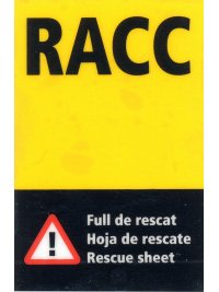Sticker RACC, 12kB